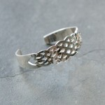Broad Celtic Bangle