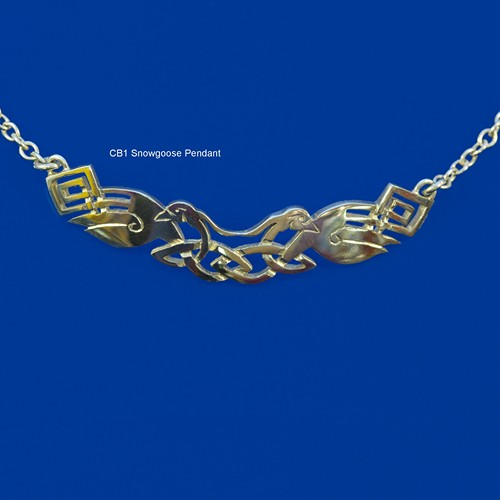 Celtic Beastie Snowgoose Neck Piece