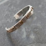 Celtic Gold Top Bangle