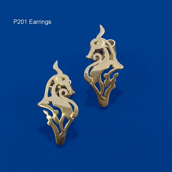 Aberlemno Deer Earrings